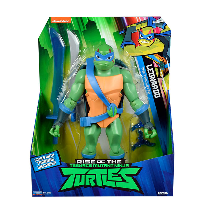 Rise of TEENAGE MUTANT NINJA TURTLES Giant Action Figure DONATELLO 27cm tall