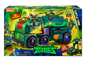 Rise of the Teenage Mutant Ninja Turtles Tank