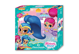 Shimmer & Shine 24 Piece Puzzle