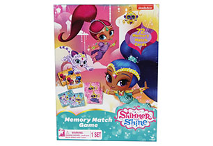 Shimmer and Shine Memory Match Game
