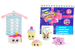 Shopkins 5 Pack Figures
