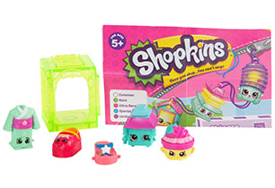 Shopkins 5 Pack S8 - Asia