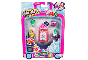 Shopkins 5 Pack S8 - USA