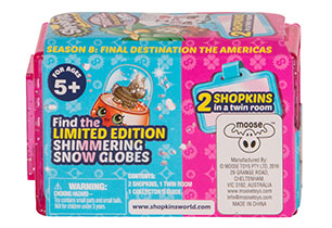 Shopkins 2 Pack in CDU S8 - USA