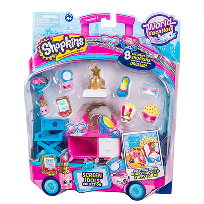 Shopkins Themed Pack S8 - USA