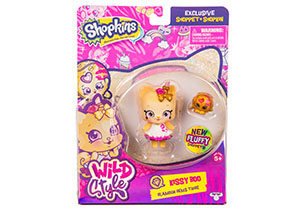 Shopkins Shoppets Wild Style Single Pack Assorted