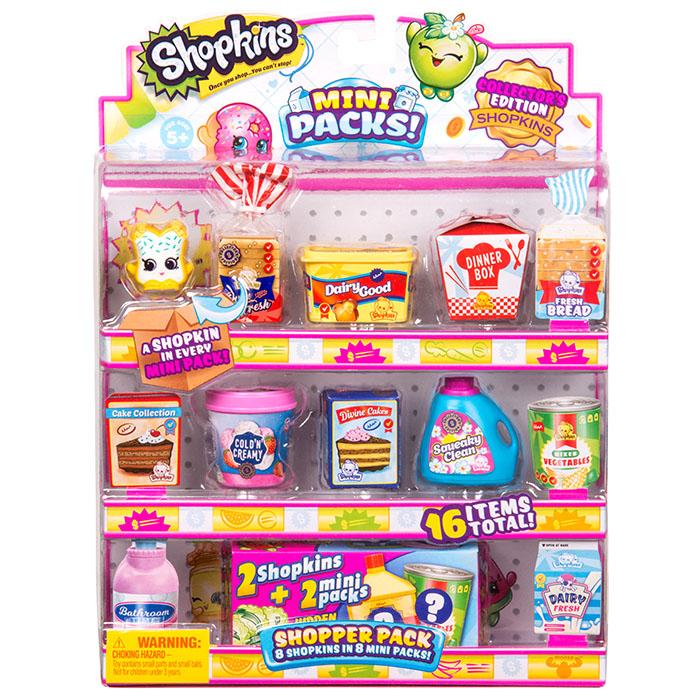 photo about Printable Shopkins List known as Shopkins Mini Packs Collectors Pack Shopkins Mini Mart