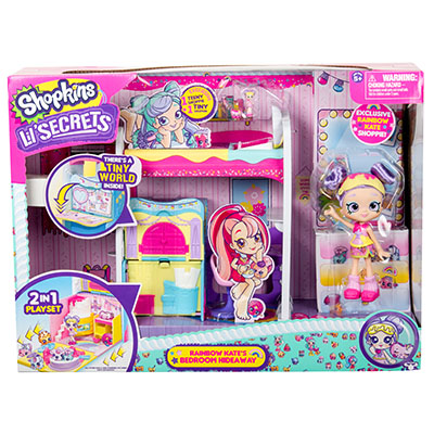 Shopkins Lil Secrets Loft Bed Playset