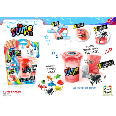 Slime Shaker 1 Pack (for boys)