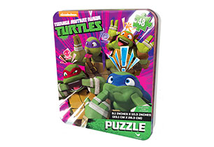 Teenage Mutant Ninja Turtles 48pc Puzzle In Tin
