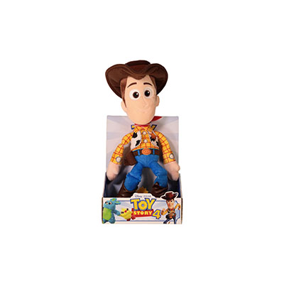 Toy Story 4 25cm Plush in Plinth Assorted
