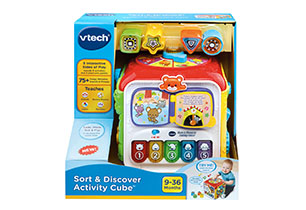 Vtech Sort & Discovery Activity Cube