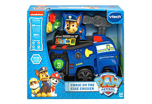 Vtech Paw Patrol Pups Chase On The Case Cruiser