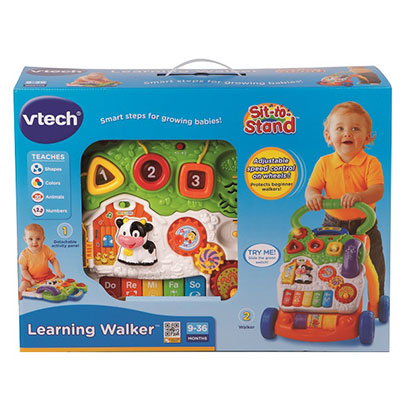 VTech First Step Baby Walker Red