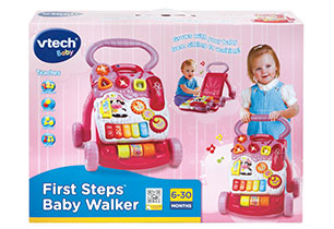 VTech First Step Baby Walker Pink