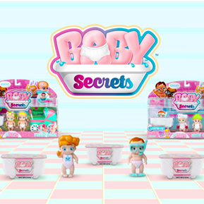 Baby Secrets!</br>The new collectibles on the block