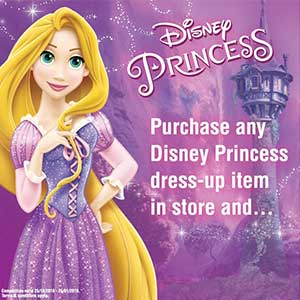 Fans of Disney Princess - win exclusive Belle and Rapunzel ball gown dresses
