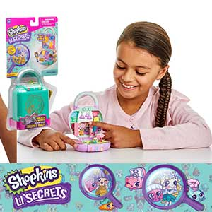 Something TOP SECRET is going on in Shopville with Shopkins Lil Secrets