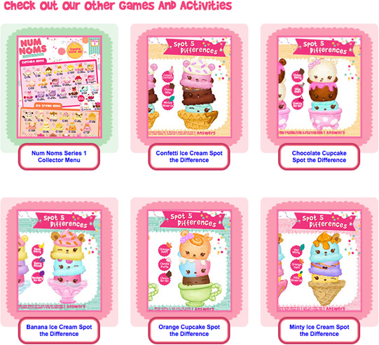 The Num Noms app