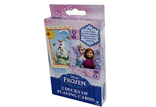 Frozen 2 Pack Playing Cards
