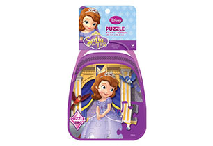 Sofia The First 24pc Puzzle In Purse