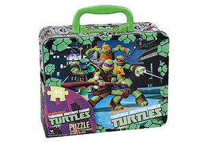 Teenage Mutant Ninja Turtles Puzzle In Lunch Tin