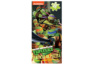 Teenage Mutant Ninja Turtles 48pc Lenticular Tower Puzzle