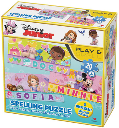 Disney Junior Spell My Name - 60pc